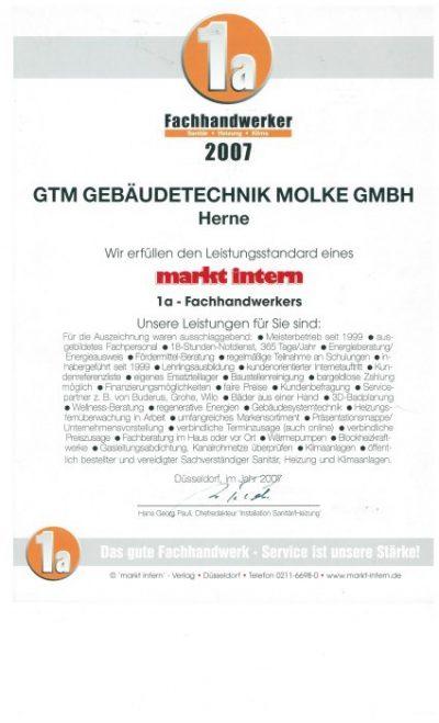 Fachhandwerker Gebäudetechnik Molke GmbH